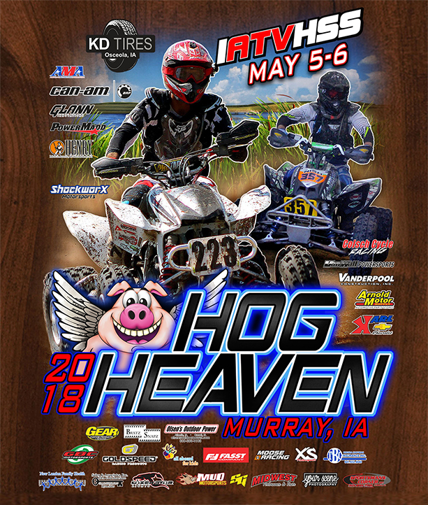 Hog Heaven 2018 Race Poster