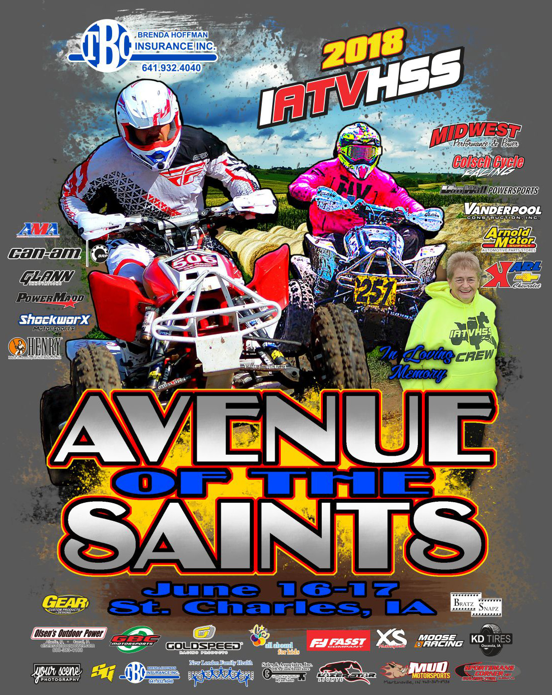 2018 St Charles Avenue of the Saints Race Event