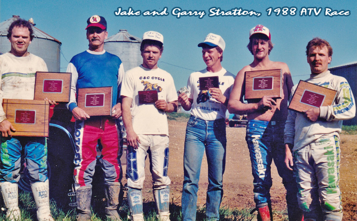 Jerald Stratton and Garry Stratton ATV Racing